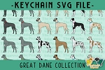 Great Dane Collection SVG