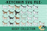Husky Collection SVG