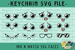 Mix N Match SVG Faces