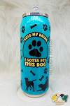 CUSTOM 18oz Soda Can Tumbler