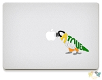 Caique Vinyl Decals
