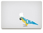 Macaw Vinyl Decals