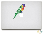 Lorikeet Vinyl Decals