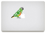 Senegal Vinyl Decals