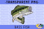 Bass Fish PNG