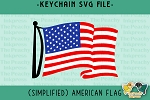 American Flag Pattern SVG