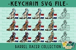 Barrel Racer Horse Collection SVG