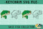 Bass Fish SVG