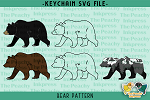Bear Pattern SVG