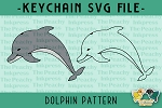 Dolphin Pattern SVG