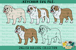 English Bulldog Collection SVG