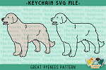 Great Pyrenees Pattern SVG