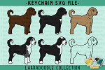 Labradoodle Collection SVG