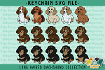 LH Dachshund Collection SVG