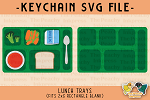 -FREE- Lunch Tray SVG