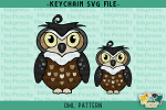 Owl Pattern SVG