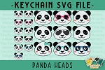 Panda Head Collection SVG