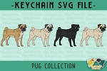 Pug Collection SVG