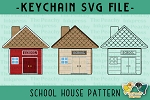 School House Pattern SVG