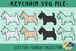 Scottish Terrier Collection SVG