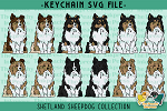 Shetland Sheepdog Collection SVG
