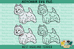West Highland Terrier SVG