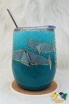 CUSTOM 12oz Wine Tumbler